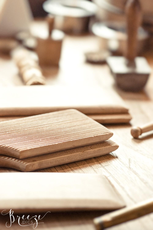 wooden victorian kitchen utensils, limited edition fine art print, Bernadette Meyers