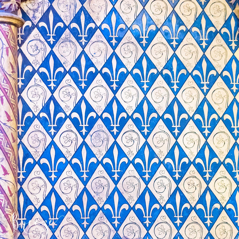 sainte chapelle gold fleur de lys limited edition fine art home decor print, Breeze Pics