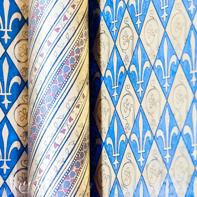 sainte chapelle pattern details limited edition fine art print, Breeze Pics