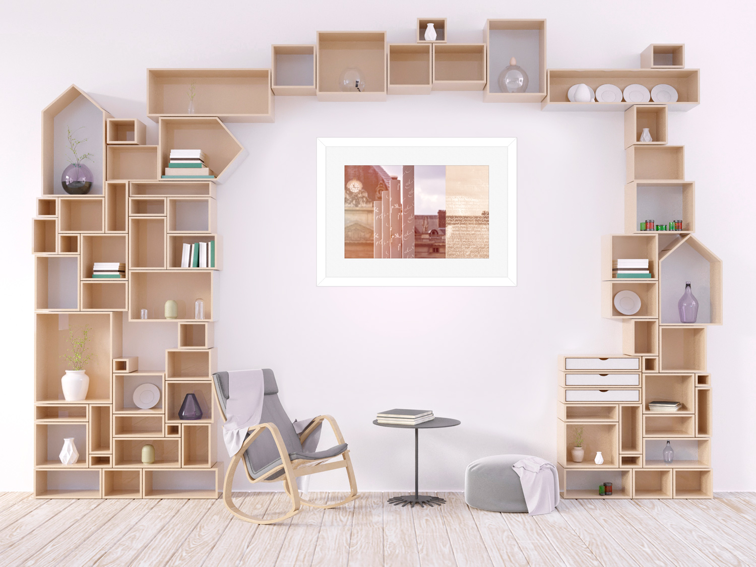 A guide to art and photography for the reading nook/library