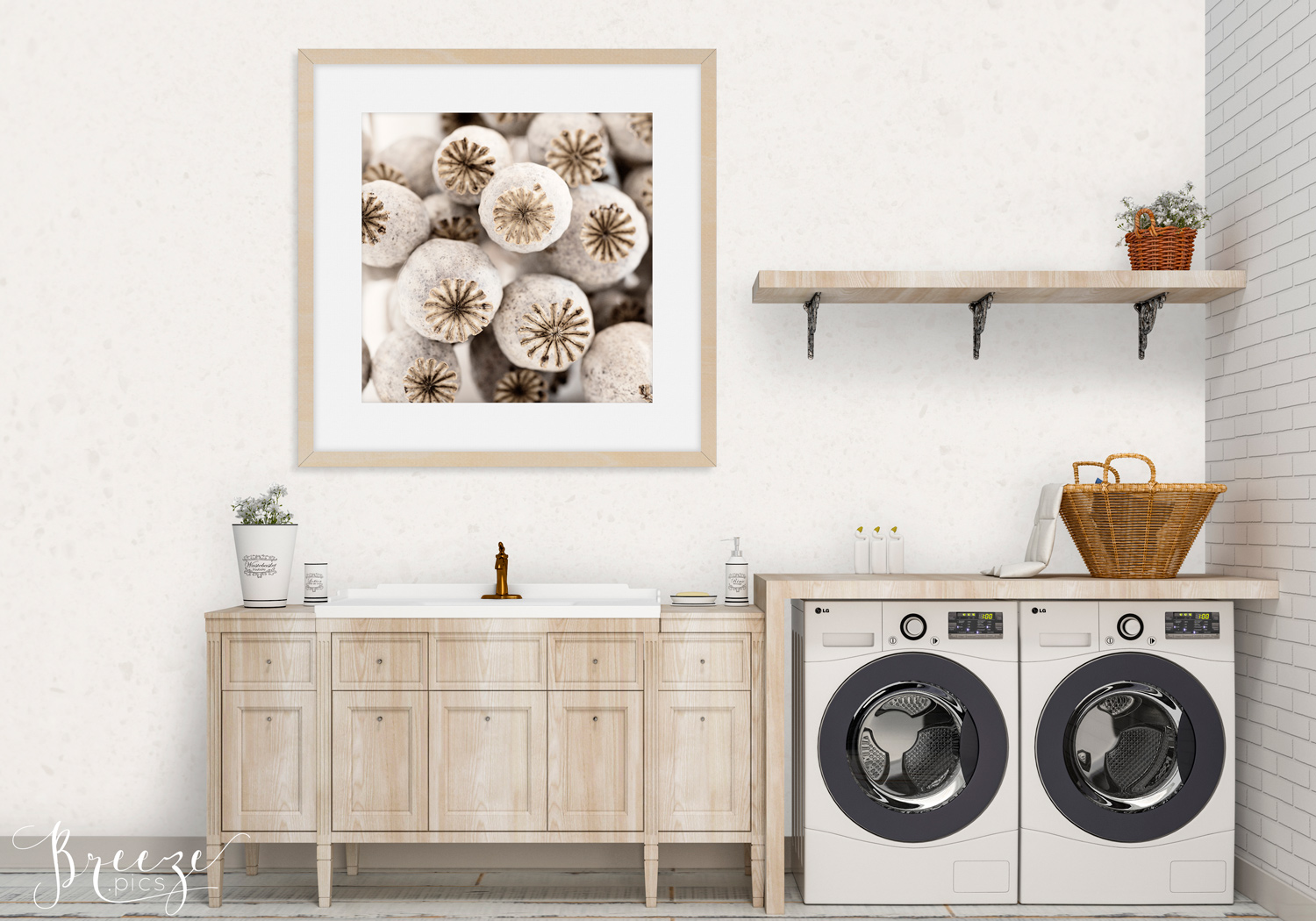 A guide to art and photography for the laundry