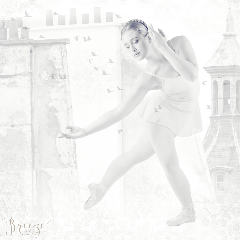 paris, ballet dancer, black and white, monochrome, limited edition fine art print, home decor photography, Breeze Pics