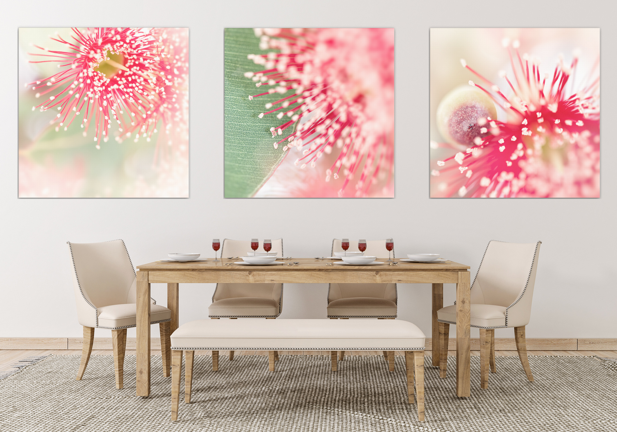 how to create an energizing mood with contemporary art, home decor, fine art macro nature photography, Bernadette Meyers