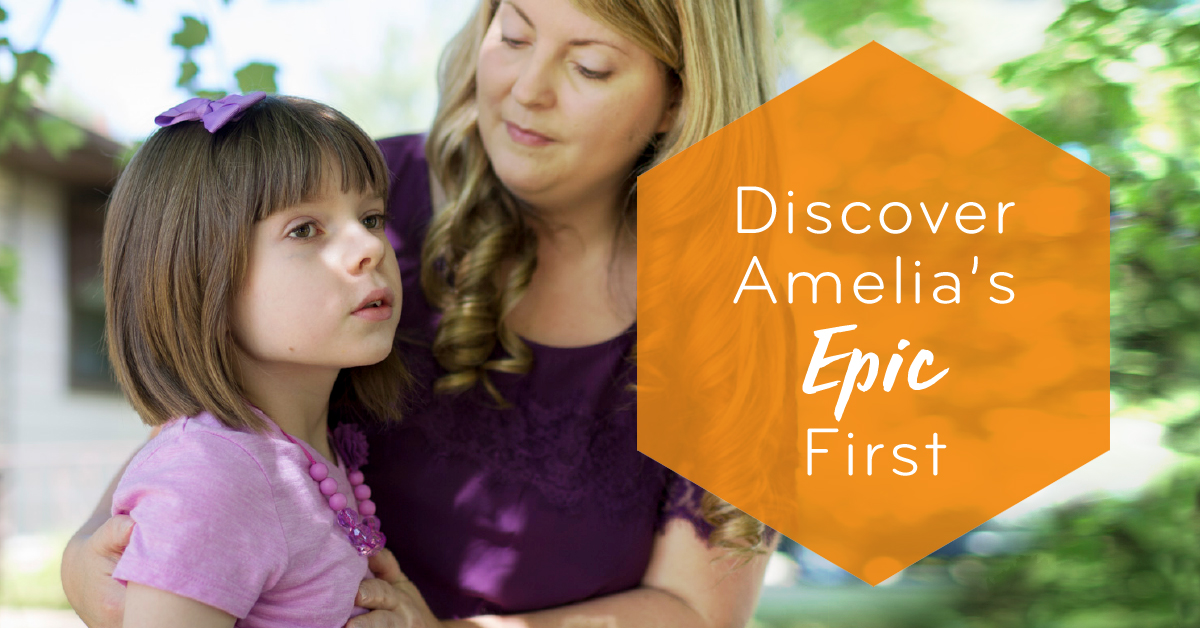 It was a diagnosis no parent wants to hear — a rare form of epilepsy with no known cure or well-established therapies. Amelia lives with a mutation on the SCN2a gene and in 2015 was experiencing as many as 100 seizures a day. Meet her on her journey as she laughs again, relearns how to walk and communicates in new ways.   Click here to learn more about Amelia's ongoing firsts .