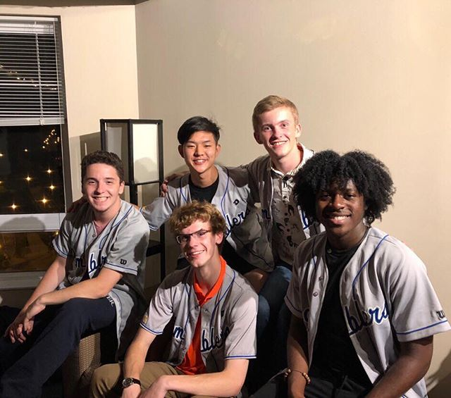 ‼️NEW ROOKIES ALERT‼️ Give a WARM welcome to all of our NEW ROOKIES!!! Please welcome Dan ('22), Ozor ('22), Jack ('22), Larry ('22) and E ('22)!! We are SO pumped for this year and can't wait to make music with these guys!!! #MR #midnightrambelrs #universityofrochester