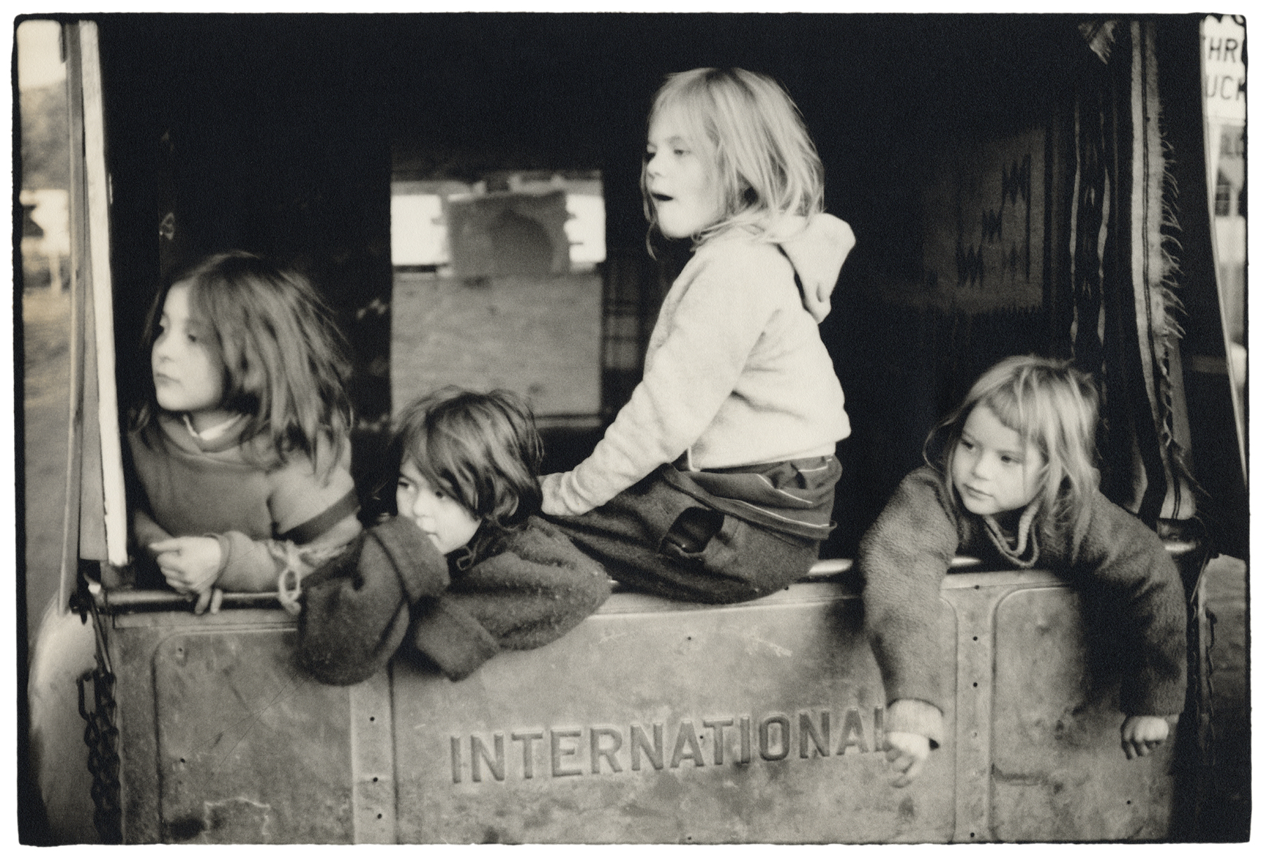 "DOUGLAS MAGNUS | International Girls, Santa Fe, 1969"" 30x42 Archival Pigment Print"