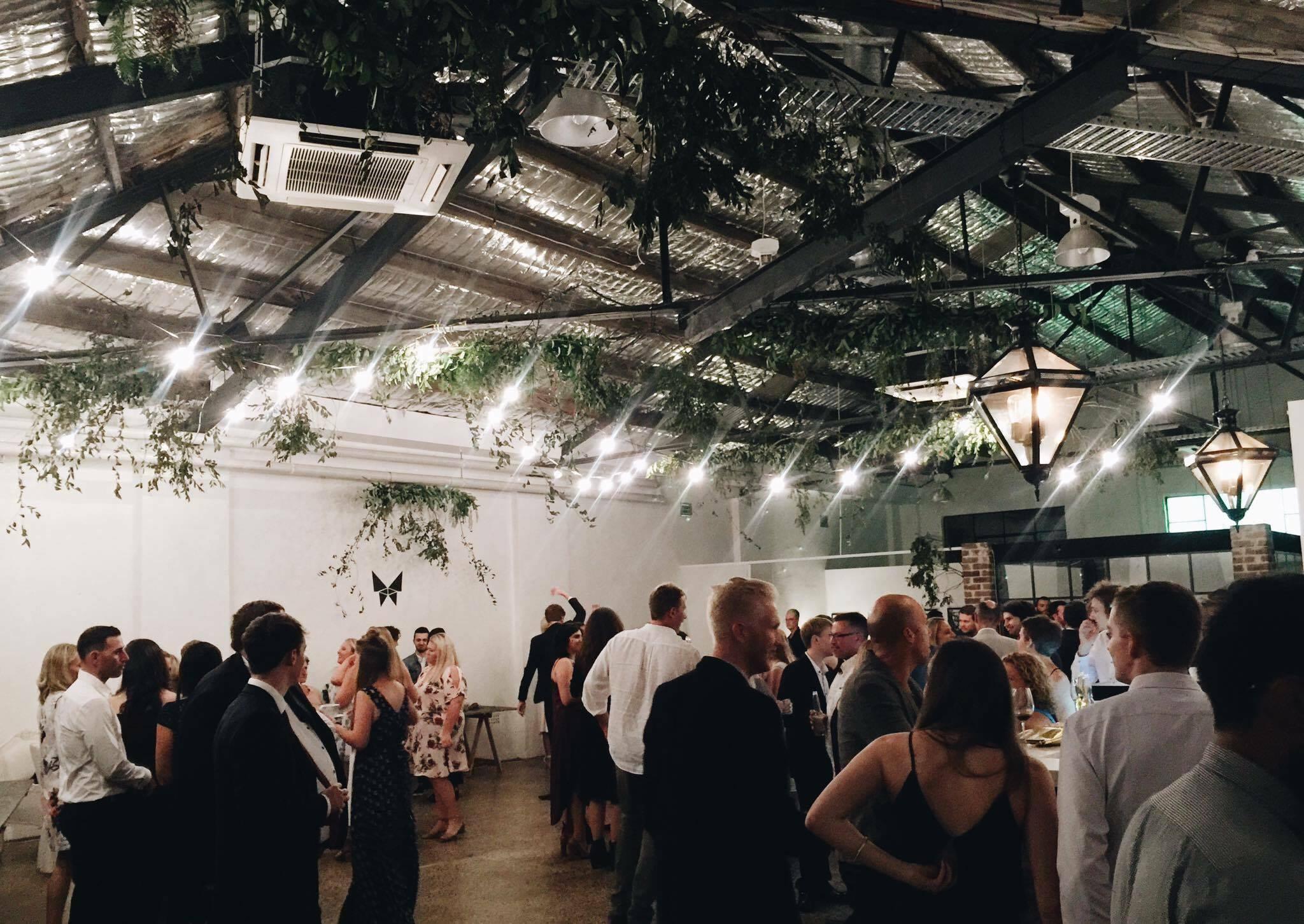 The Freedom Hub in Sydney's Waterloo - ethical wedding venue