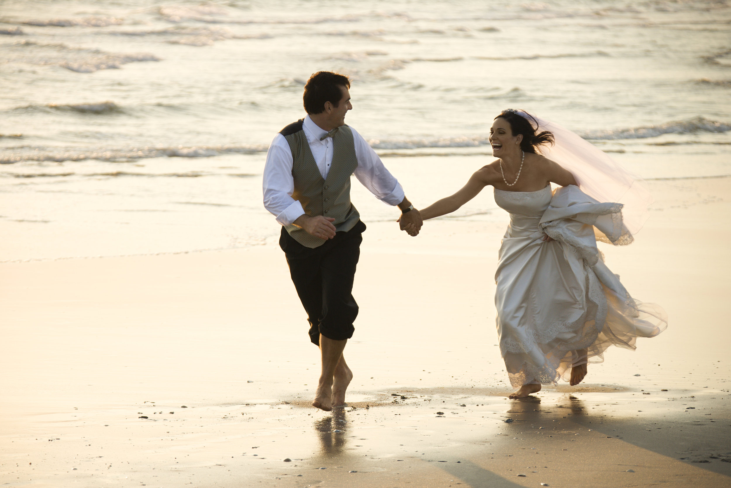 Beach weddings will always be a favourite