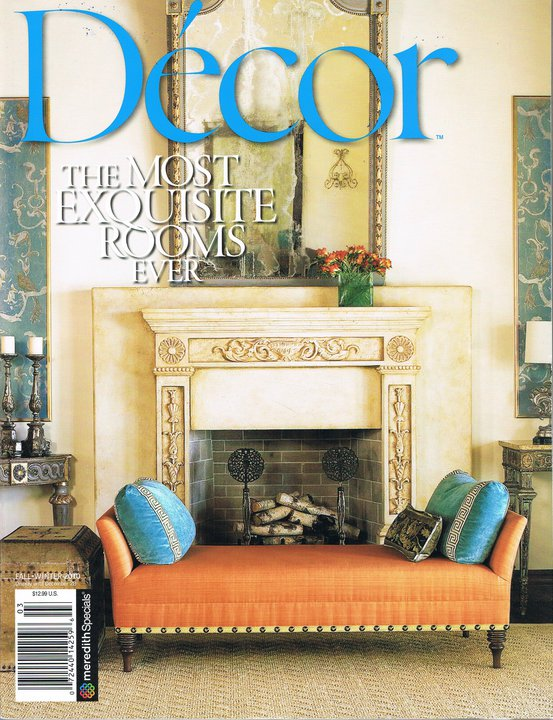 Décor MAGAZINE, Fall · Winter 2010, Cover and Pages 16 - 2