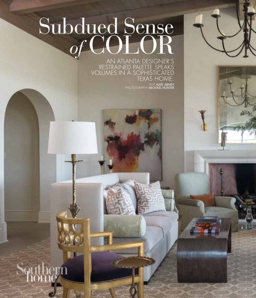 SOUTHERN HOME · SUBDUED SENSE OF COLOR, Austin Texas