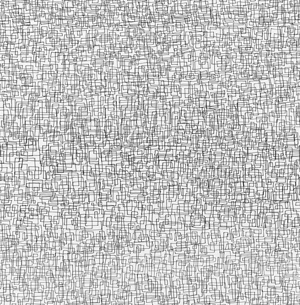 Detail,  Continuous Line No. 1  [above image]