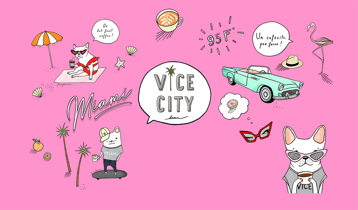 SUPPORT LOCAL - At Vice City Bean, we make it a point to support local artists and businesses who expressed what we want to showcase as a company. In our shops you will find artwork by local artists, local flowers, local vendors and a community that revolves around these.