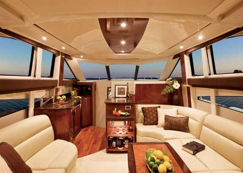 Embark Cruiser: Salon facing galley