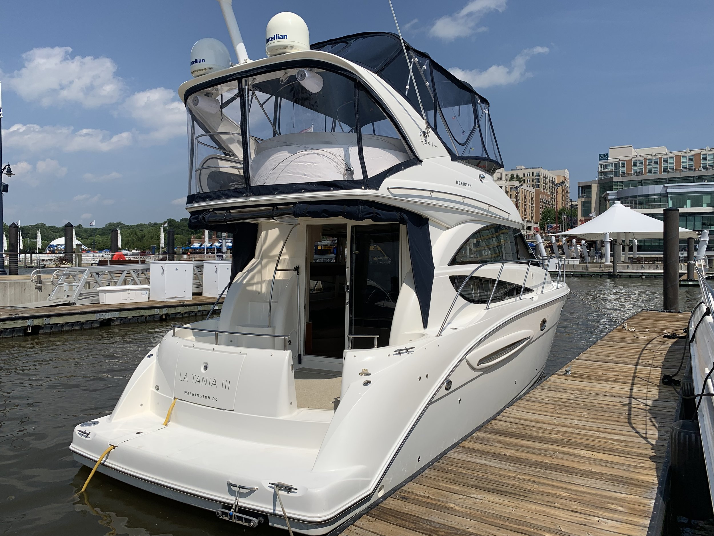 Stern view, National Harbor