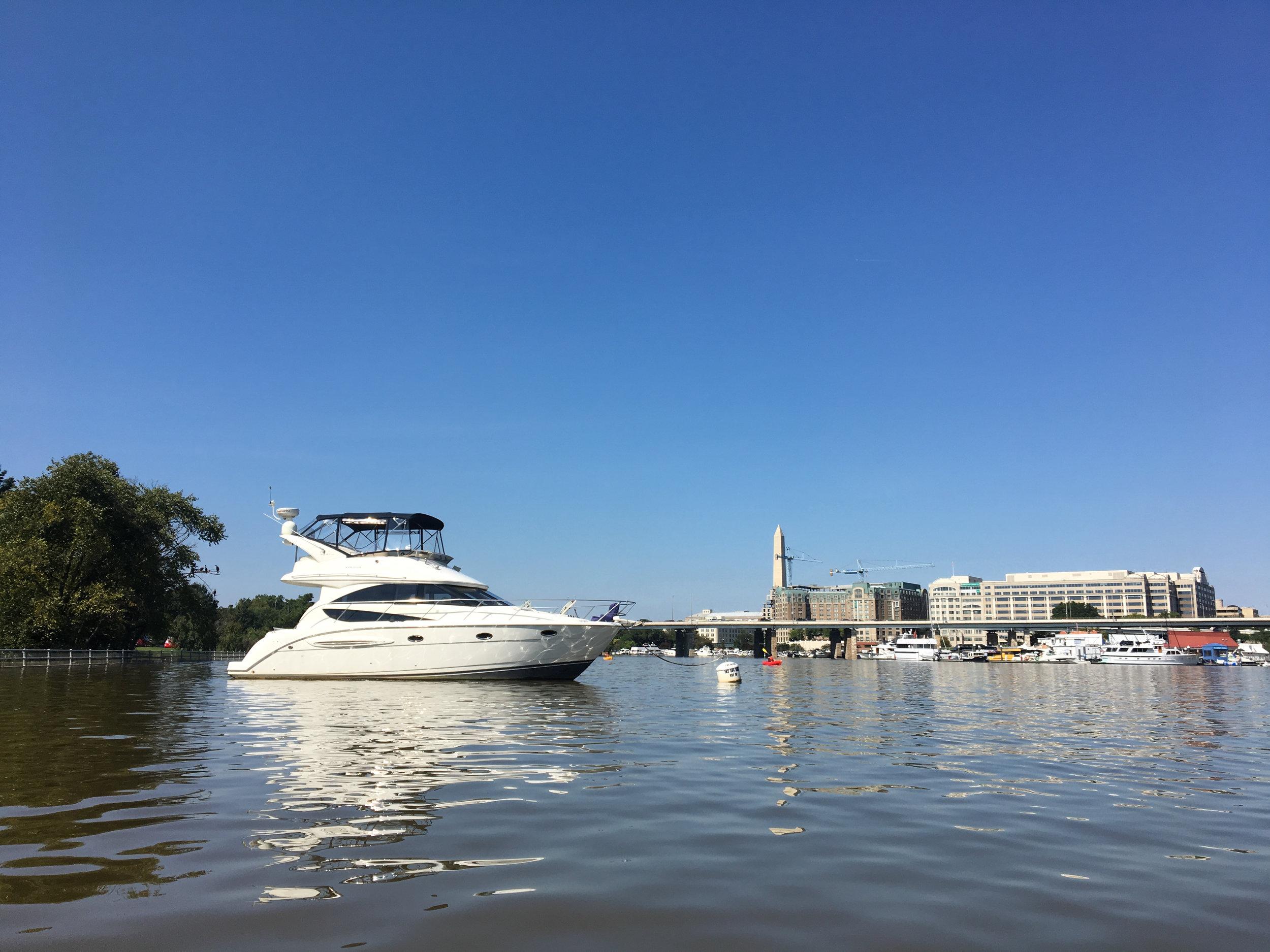 Mooring, DC Wharf