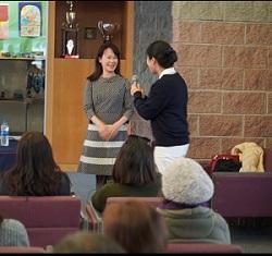 Connie Tsai, Health talk in Pleasanton,CA.
