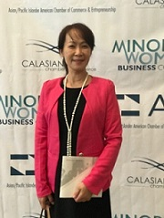 Connie Tsai, Minority Women's Business Conference, in San Jose.
