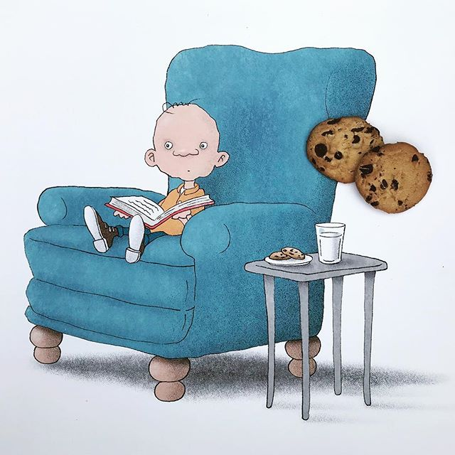 Coming soon: a story about fear. And milk. And cookies. #childrensbooks #storytime #picturebooks