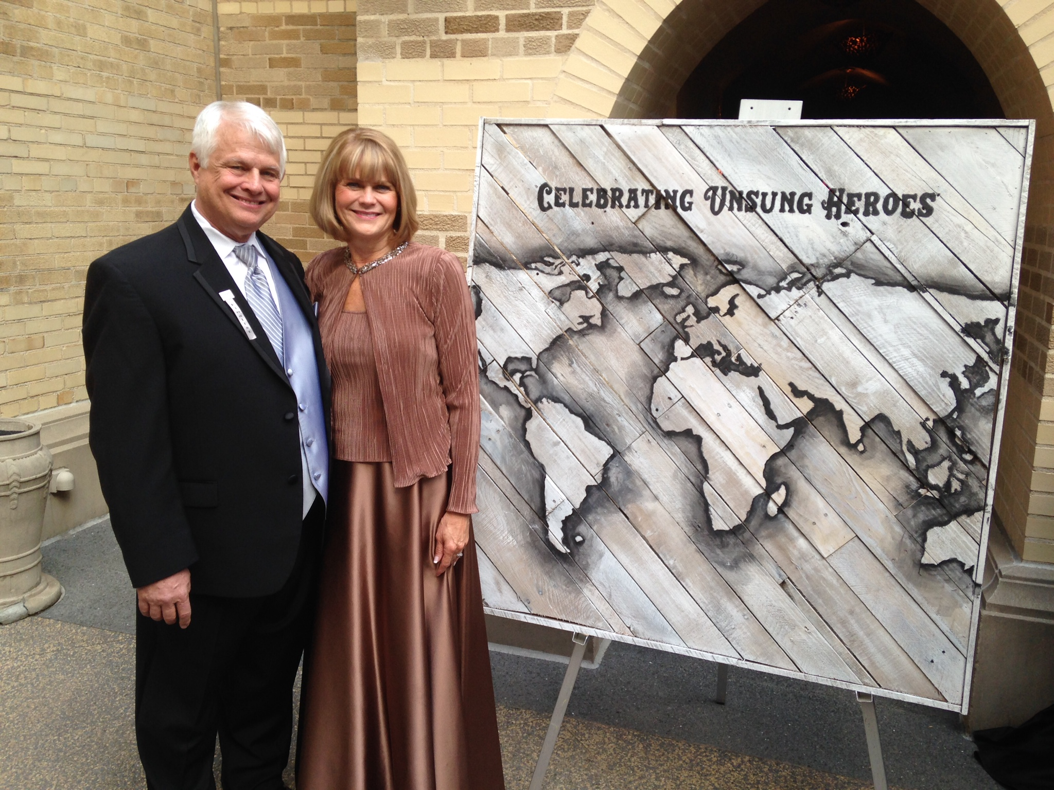 Crio International founders: President Dr. Ron Hesser and his wife, Janice.