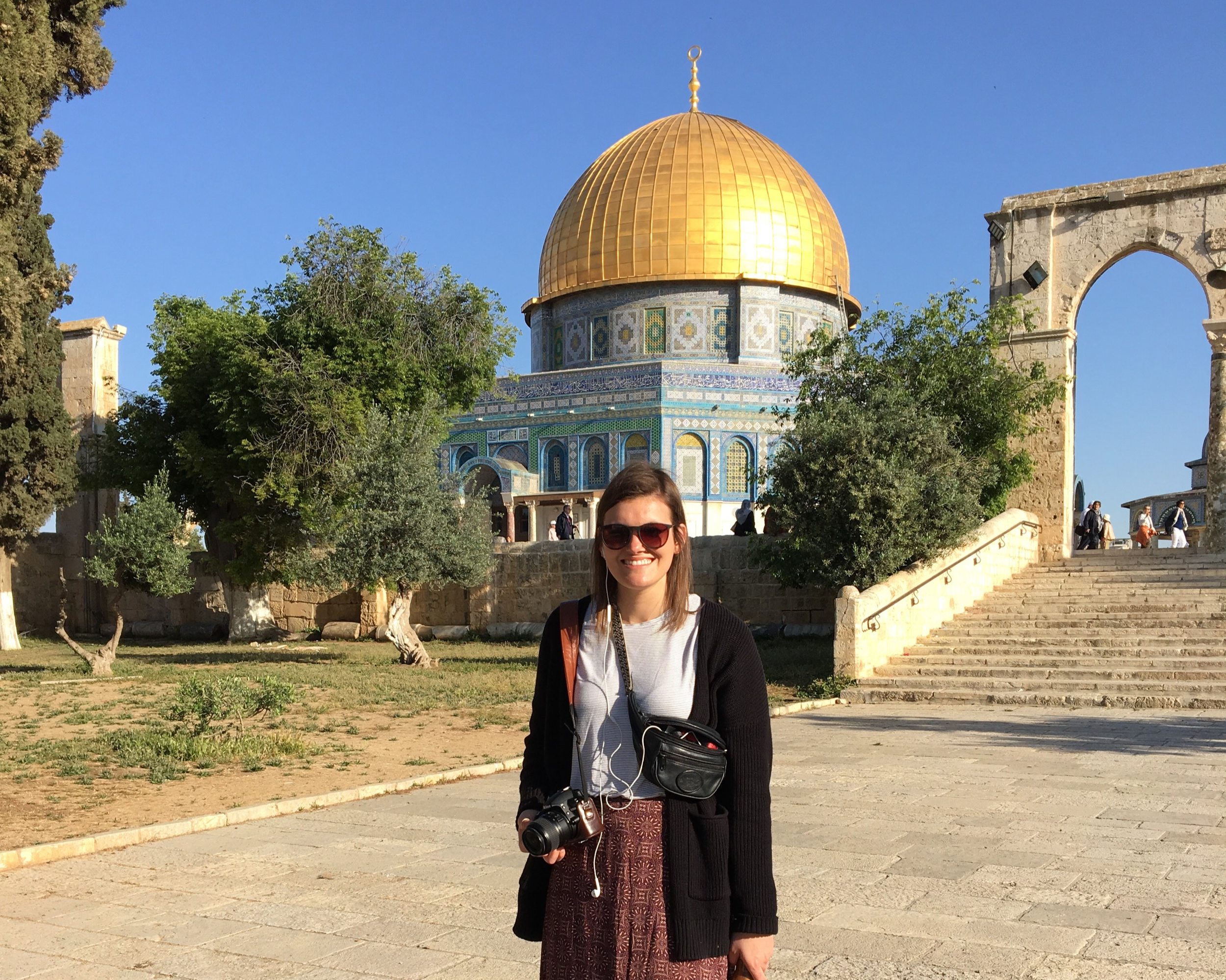 At the Temple Mount in Jerusalem