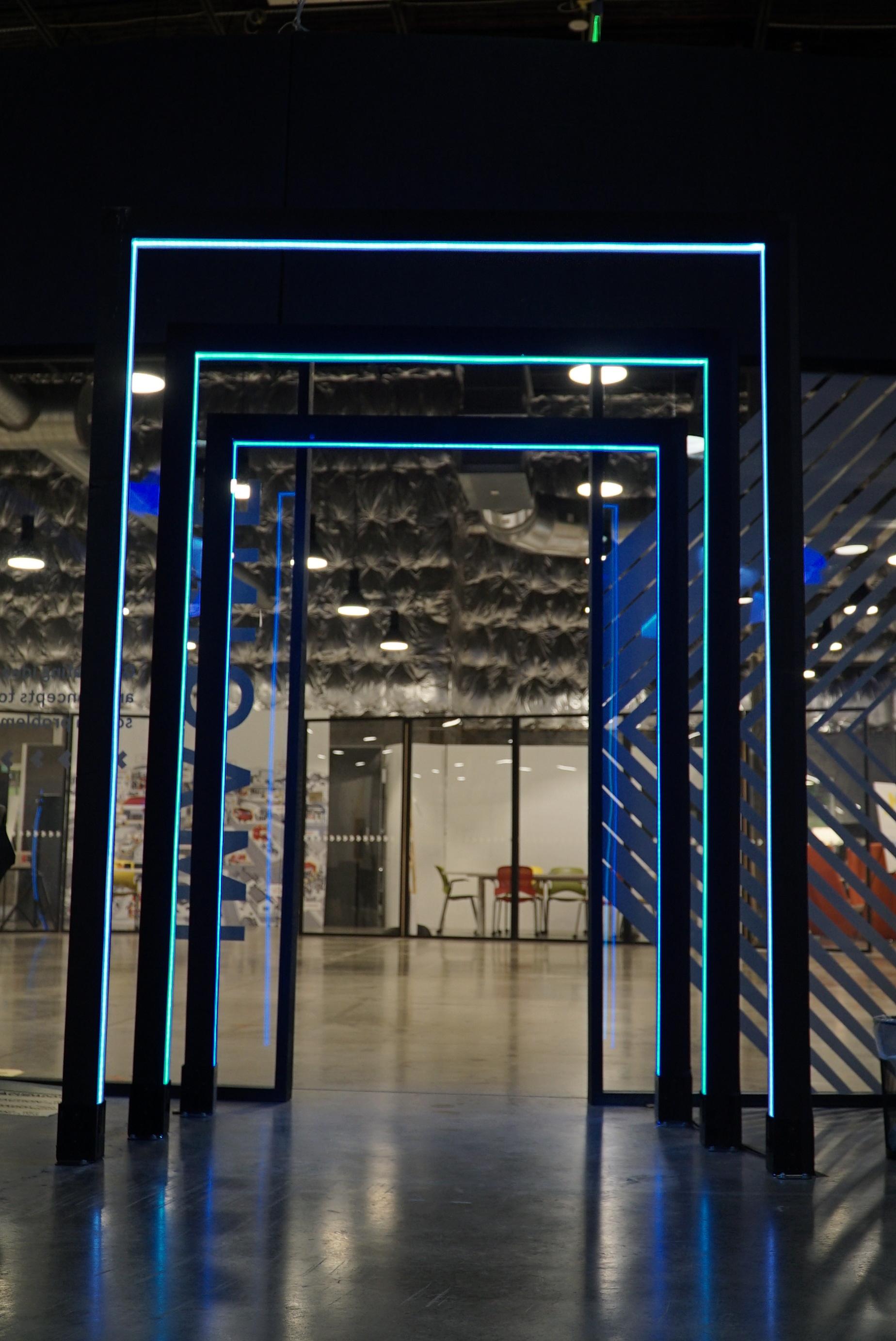 LED lit Archway