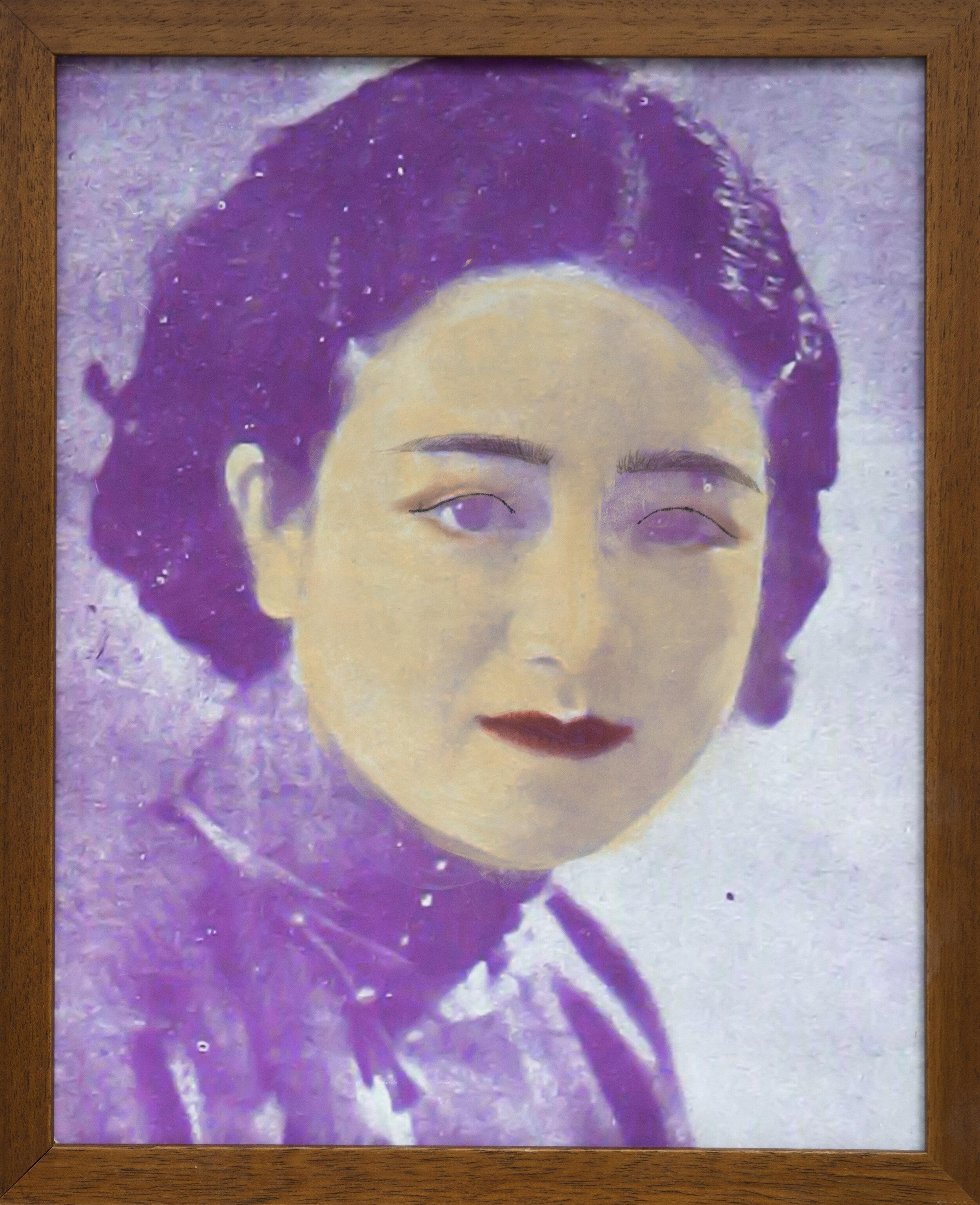 李如瑾,1936年(化妆:宫绮梦)