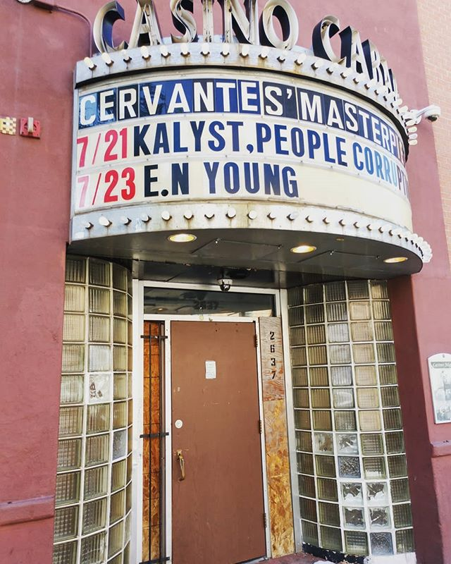 Always wanted my name up here! Get down to #cervantesotherside for @thehomegrowncapitoltours  kickoff show with tons of talented musicians of all genres. Come #Support #Local #Colorado  #Artists #Kalyst #LivePerformer #ForYears #HipHop #Music #DenverMusicScene @cervantesmasterpiece