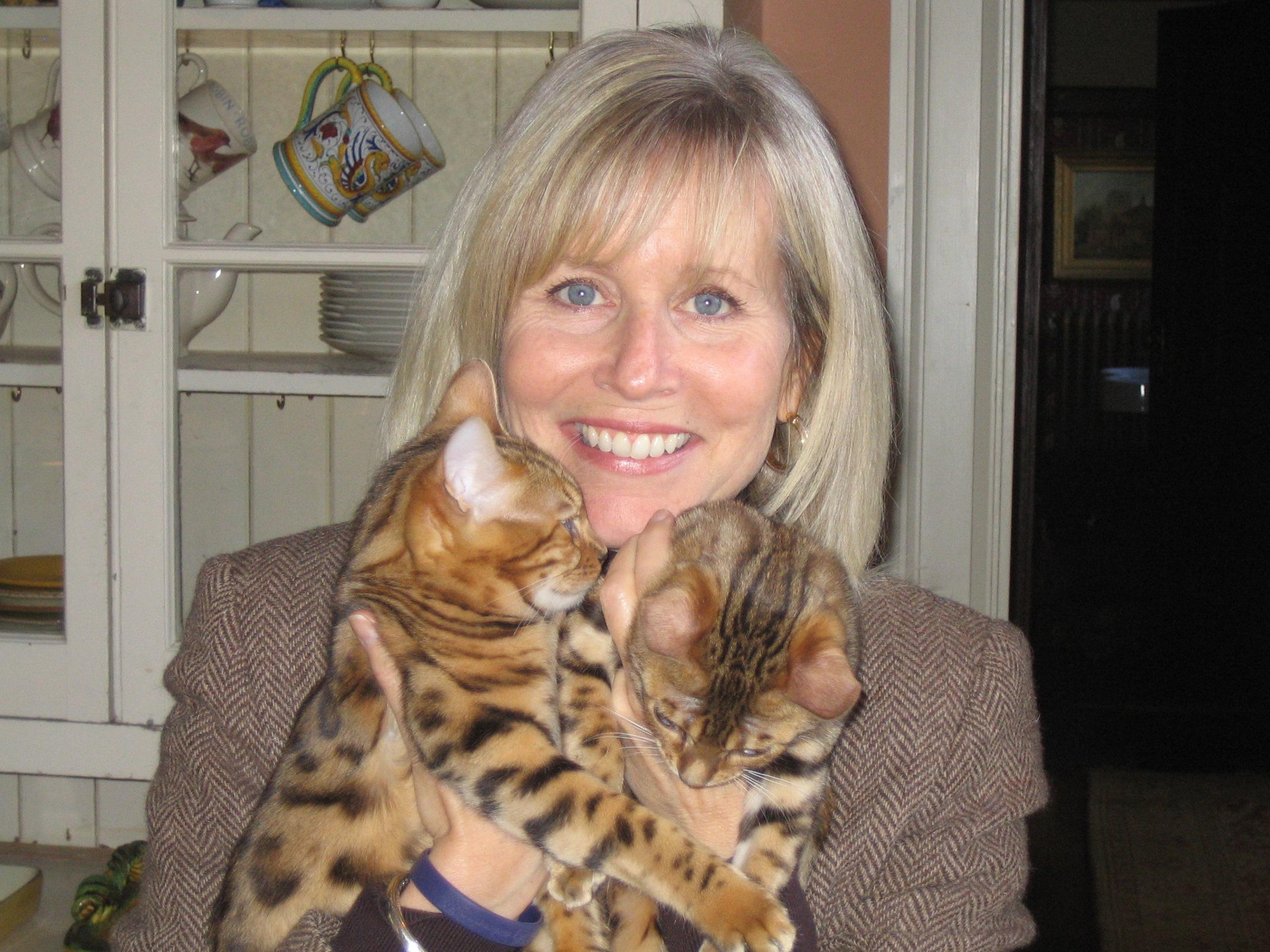 grandma and kittens1.JPG