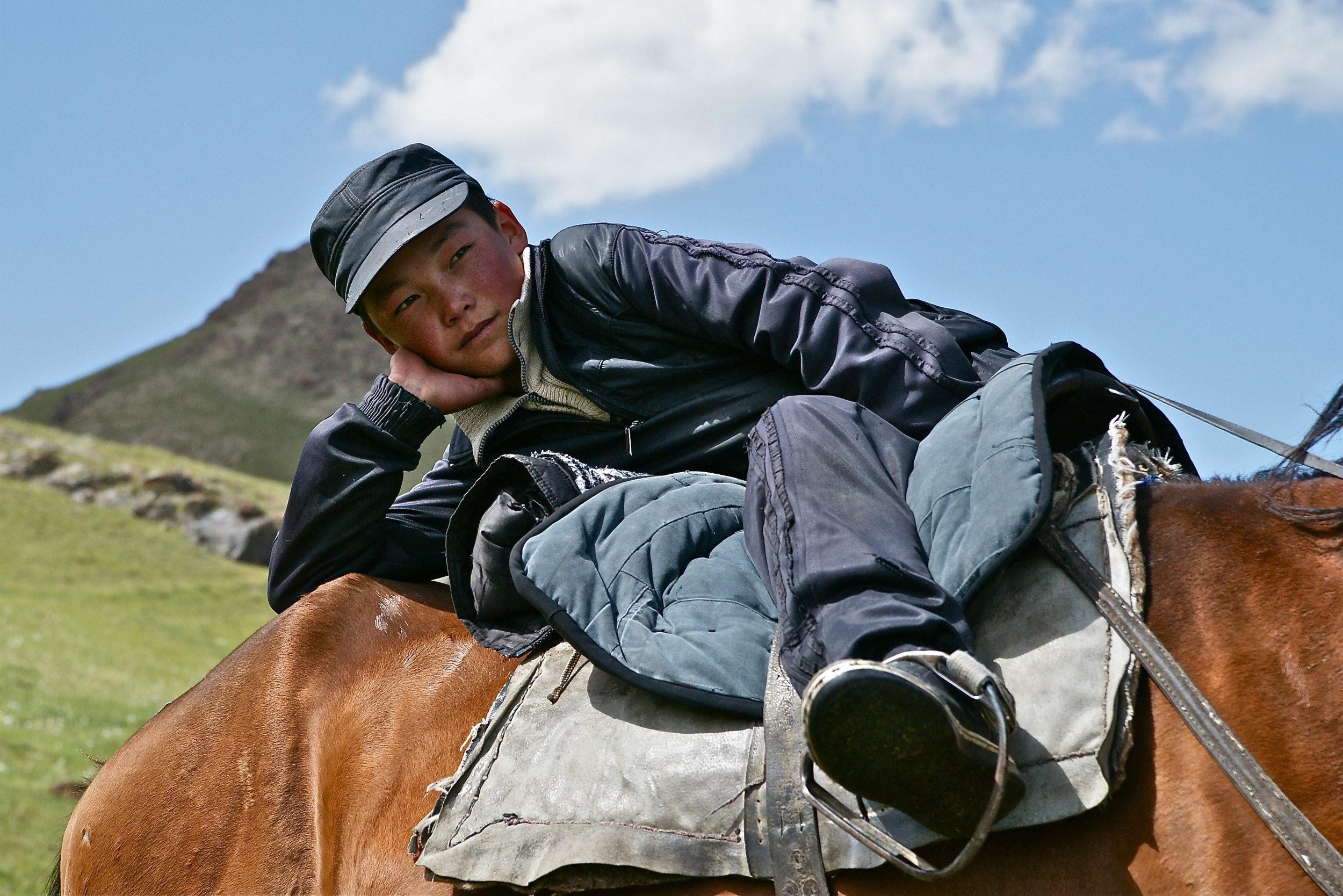 Daydreamer - Hirtenjunge in Kirgistan