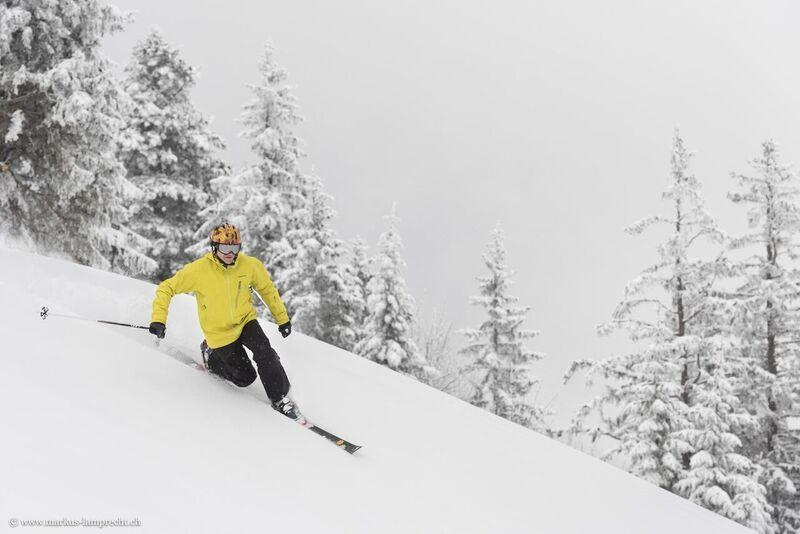 Bild: Swiss Telemark Pionier Ruedi Zurbrügg / Copyright Markus Lamprecht