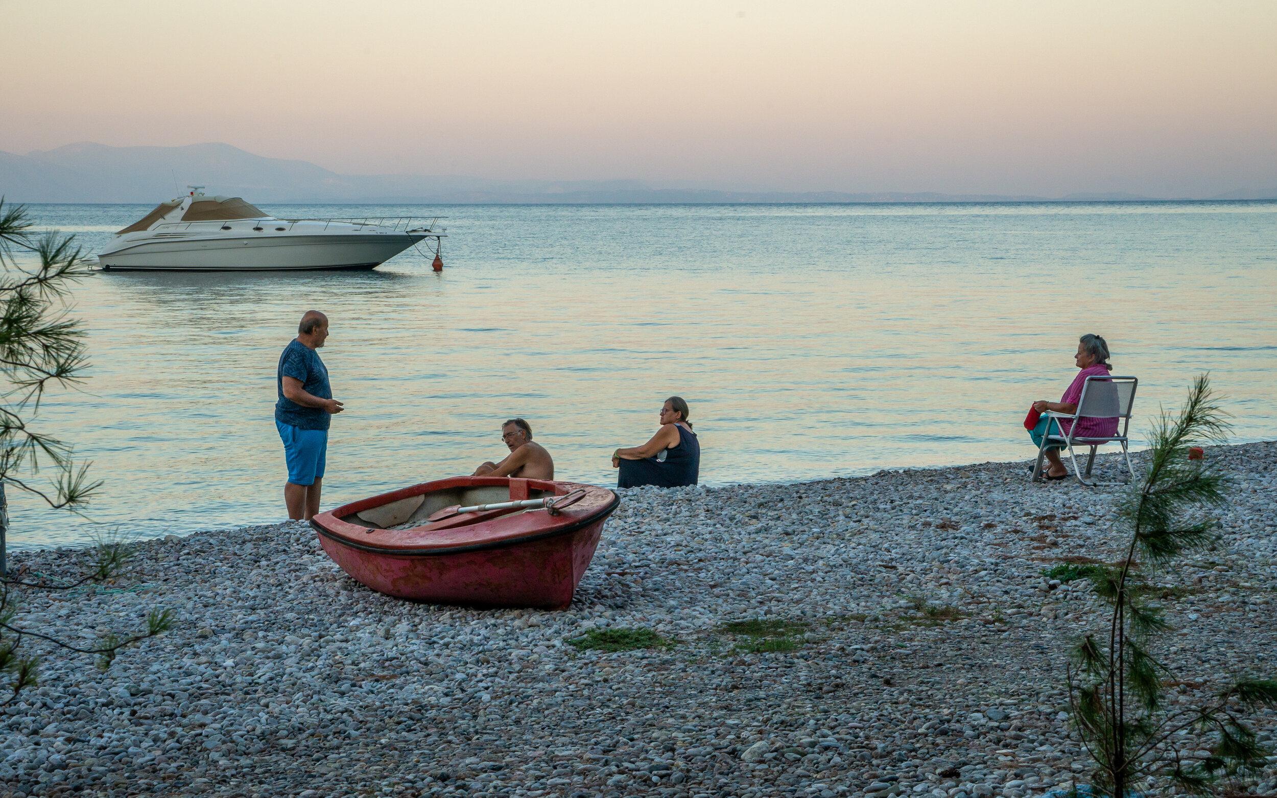Die Griechen und das Meer: Eine Liebesgeschichte in Blau