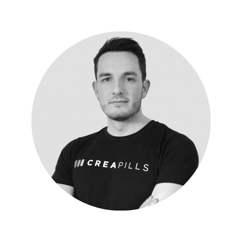 Maxime Delmas - Founder @CreapillsViralité, buzz… Maxime Delmas aime le contenu qui touche et qui marque. Fondateur du média Creapills, ce passionné de créativité dans les domaines de l'innovation et du marketing enregistre plus de 100 millions de vidéos vues par mois sur Facebook et plus de 800 000 visiteurs uniques mensuels sur son site. Rien que ça. On aime, on partage et on suit.