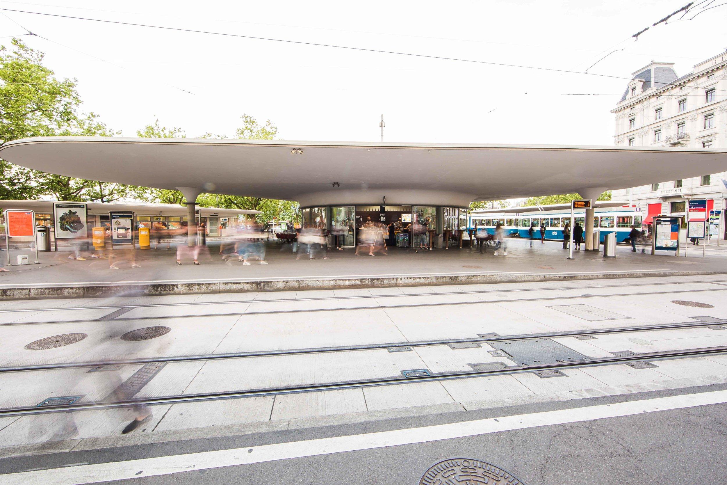 Belcafe_am_Bellevue-Rondell_Architektur_Stadt_Zuerich_Amt_fuer_Hochbauten_