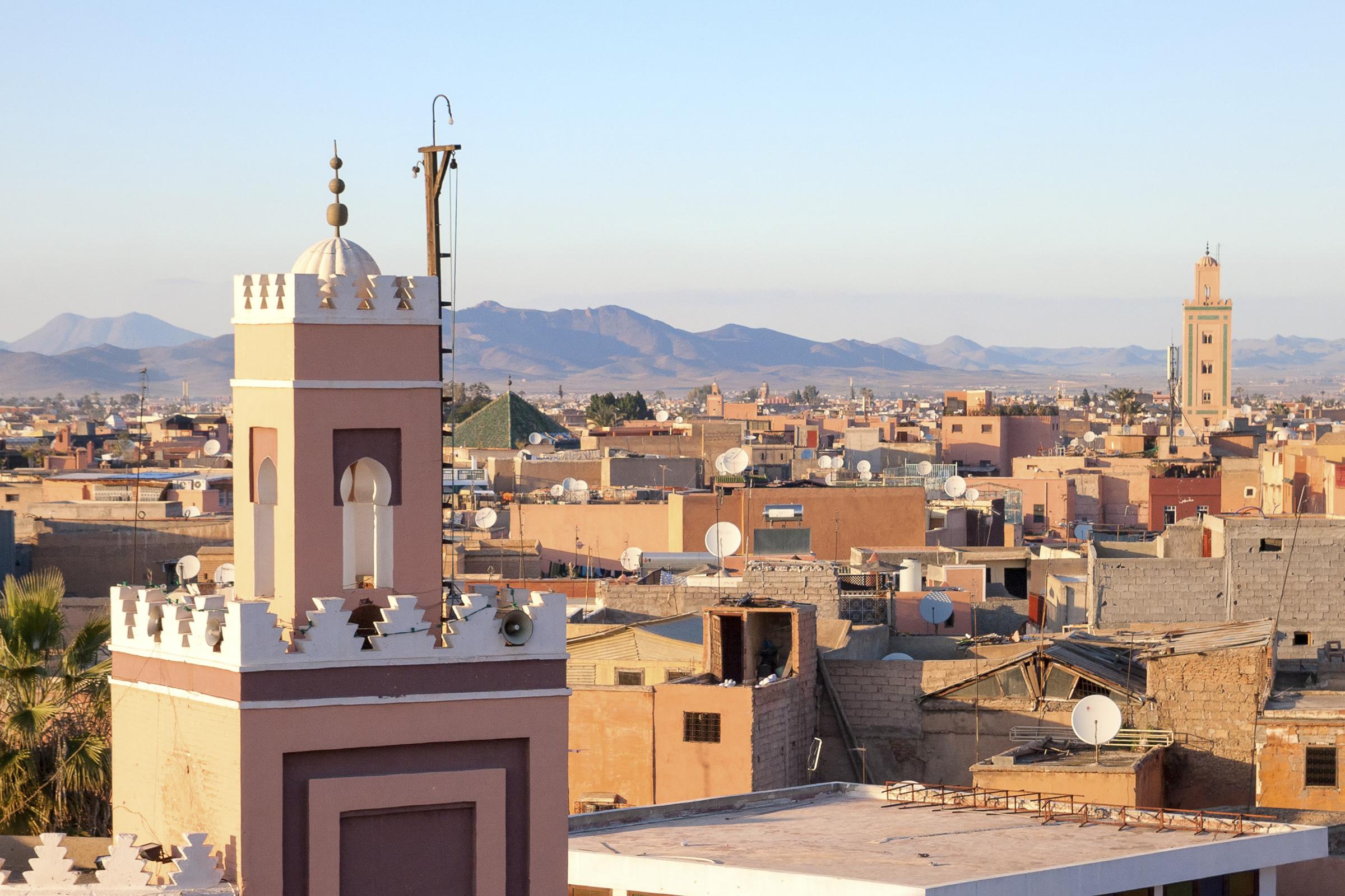 Historical city of Marrakech, Morocco