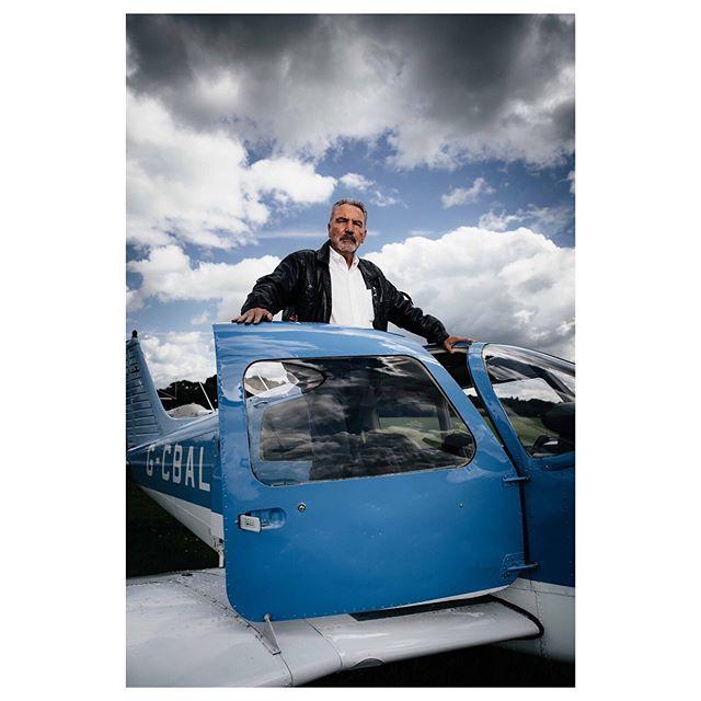 A moody day flying . . . . #portrait #pilot #aircraft #aviation #plane #portraitphotography #portraits #portrait_shots #portrait_planet #portrait_society #canon #canon5dmkiv #man #aerial