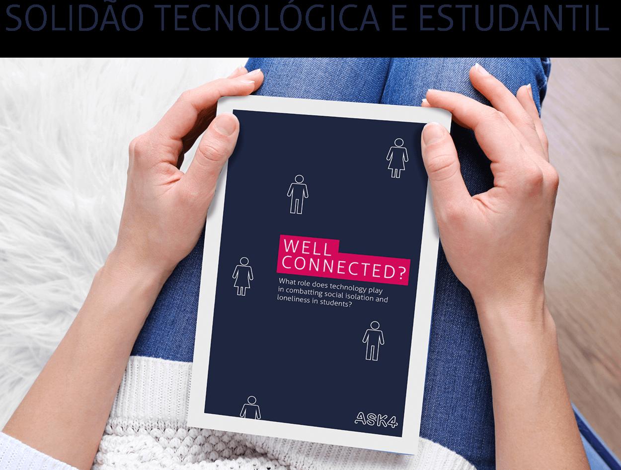 Este relatório estuda a forma como a tecnologia, ou seja, smartphones e outros dispositivos, serviços ou aplicações ligados à Internet, podem influenciar positiva ou negativamente a solidão dos estudantes.   > leia o relatório