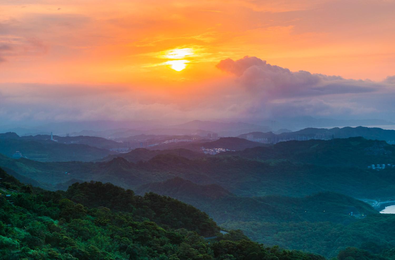 taiwan-sunset-jiufen
