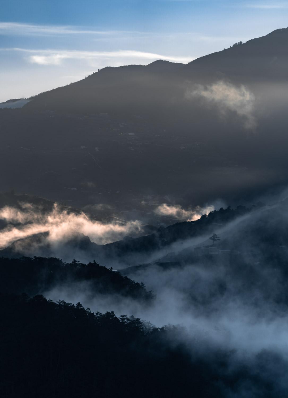 lishan-mountain-fog