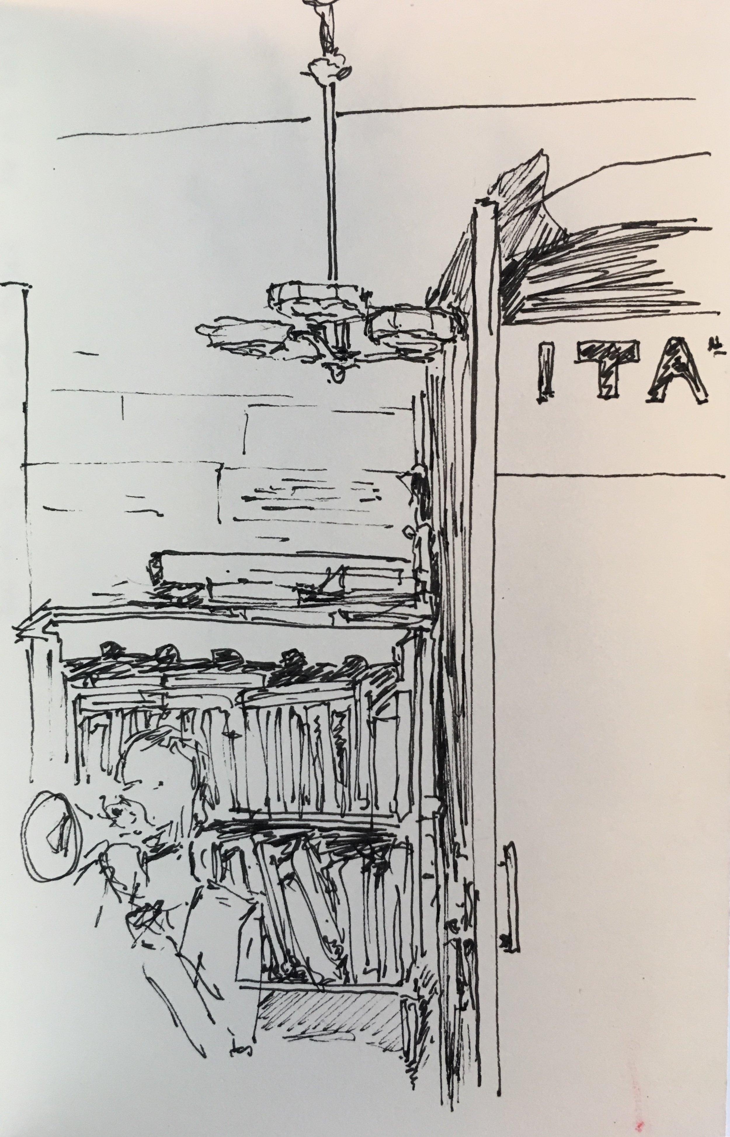 Jazz jam at Café Tati, Lisbon, 2017.