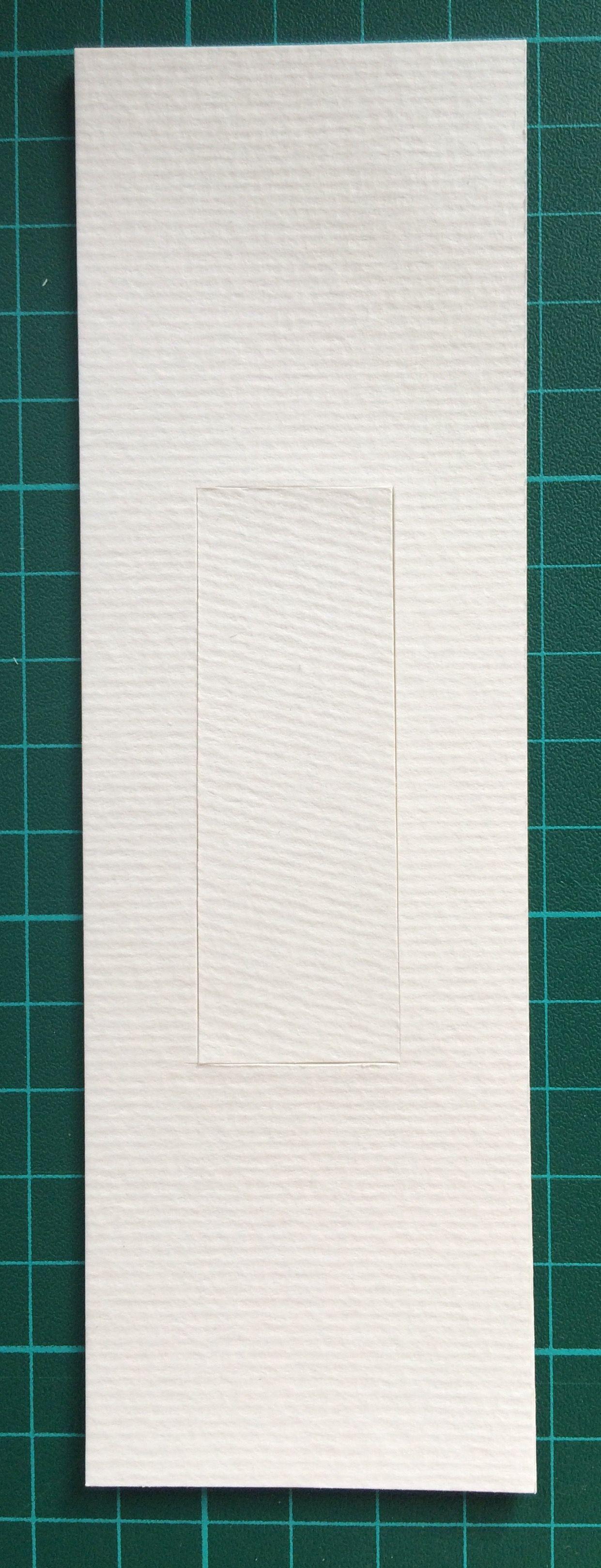 Trauma 2  paper, 5cm x 18cm, 2015.