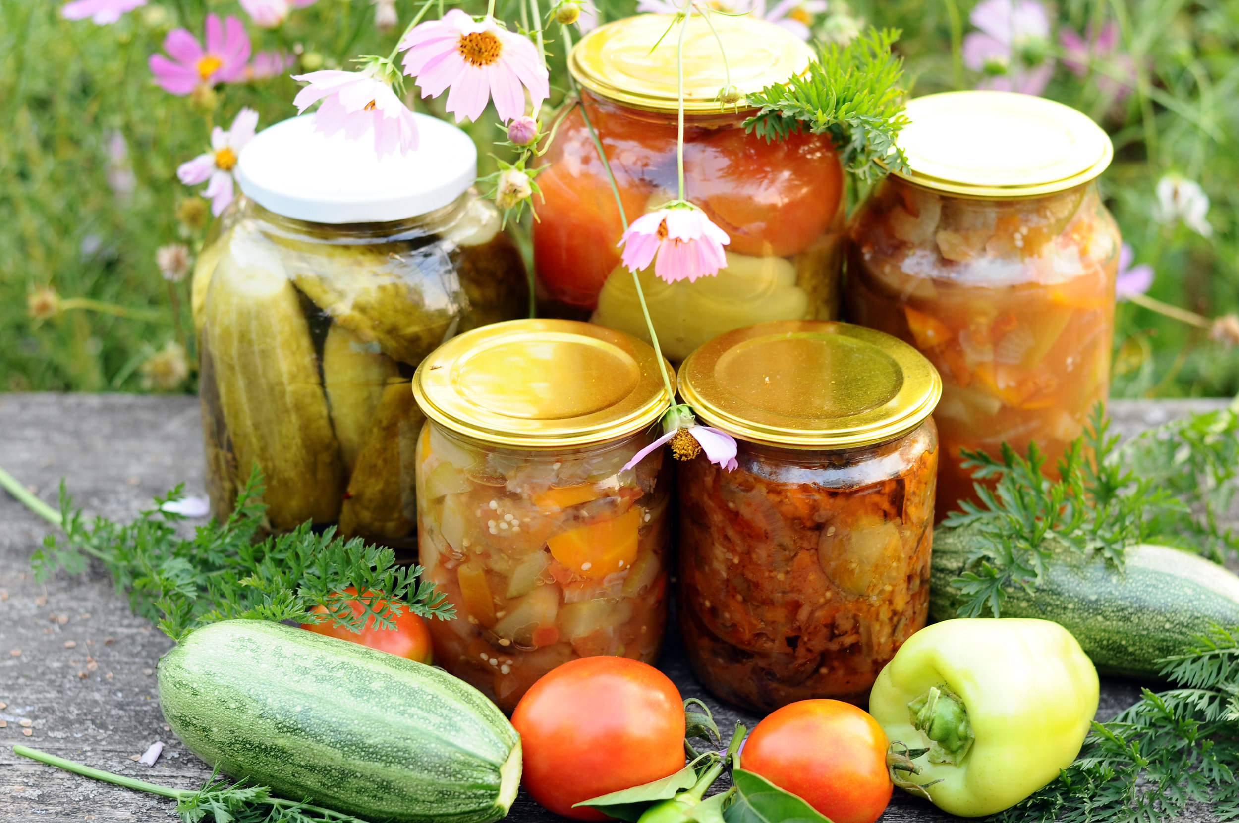Fermented food preserves the harvest and your health