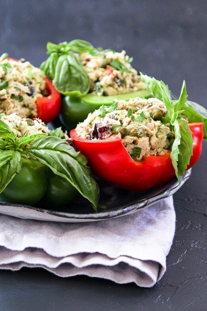 tuna bowls and wraps with bell peppers canned tuna recipes.jpg