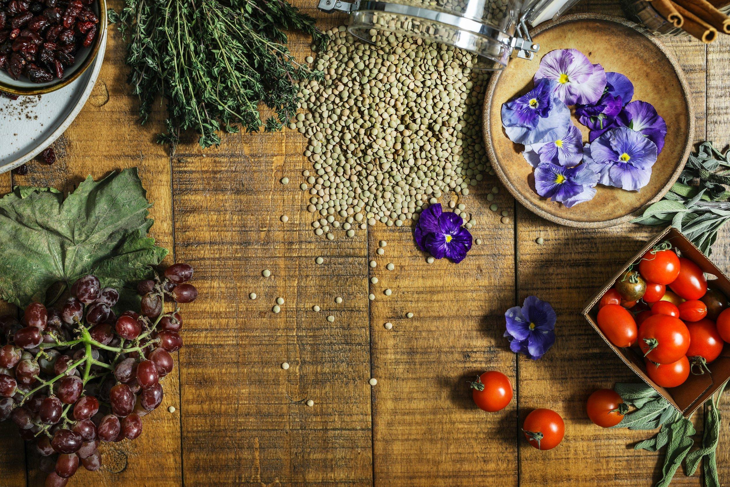 tomatoes lentils herbs nutrigenomics