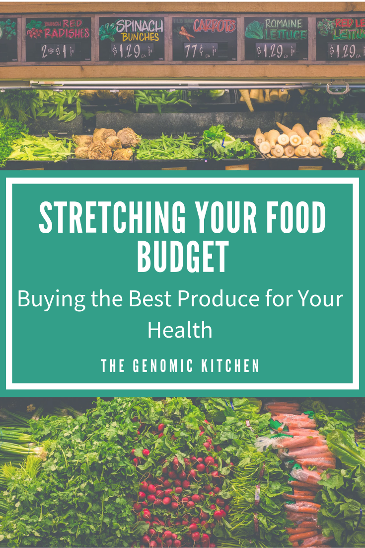 Stretching your food budget