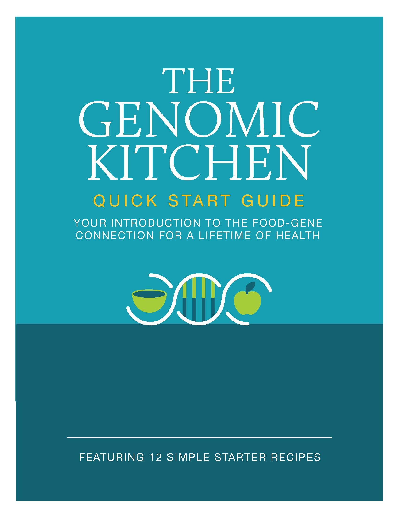 - Explore The Genomic Kitchen with our Quick Start Guide