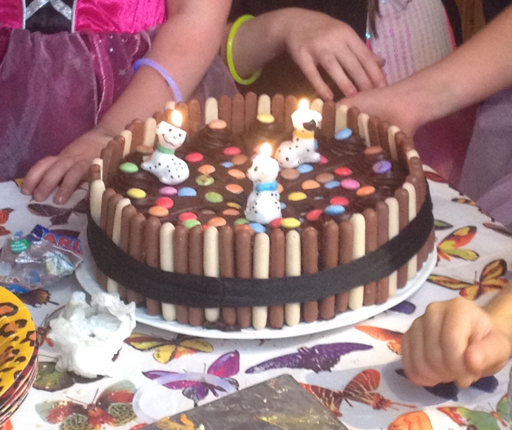 children's birthday party cake