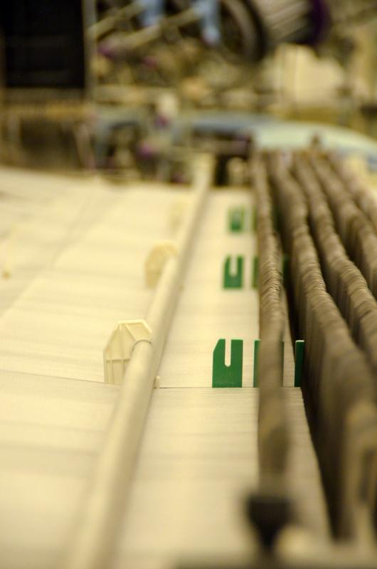 LOOMDATA Planung und Überwachung für Weberei und Weberei Vorwerk