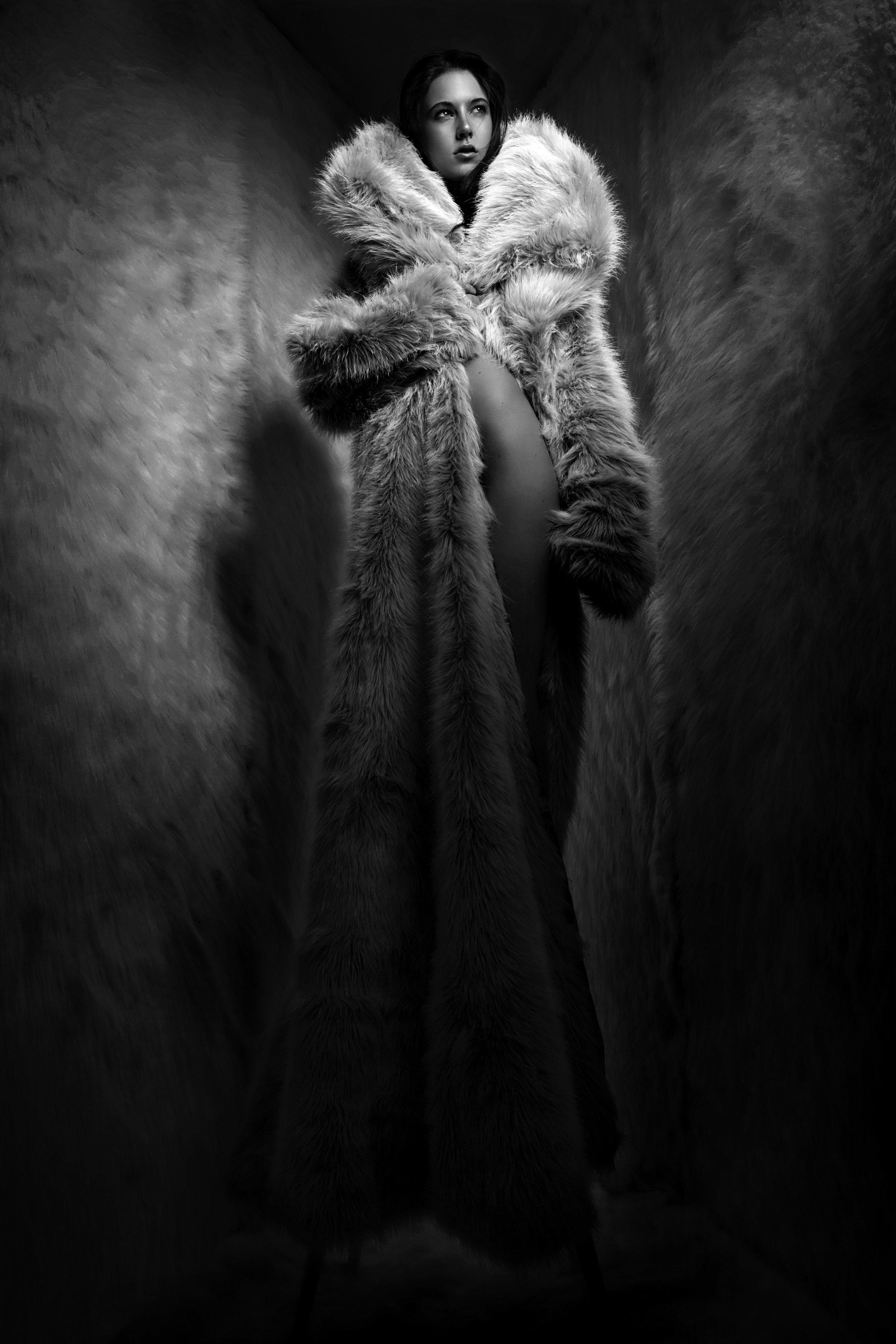 Faux fur coat - Ben Mak @benmaklondon