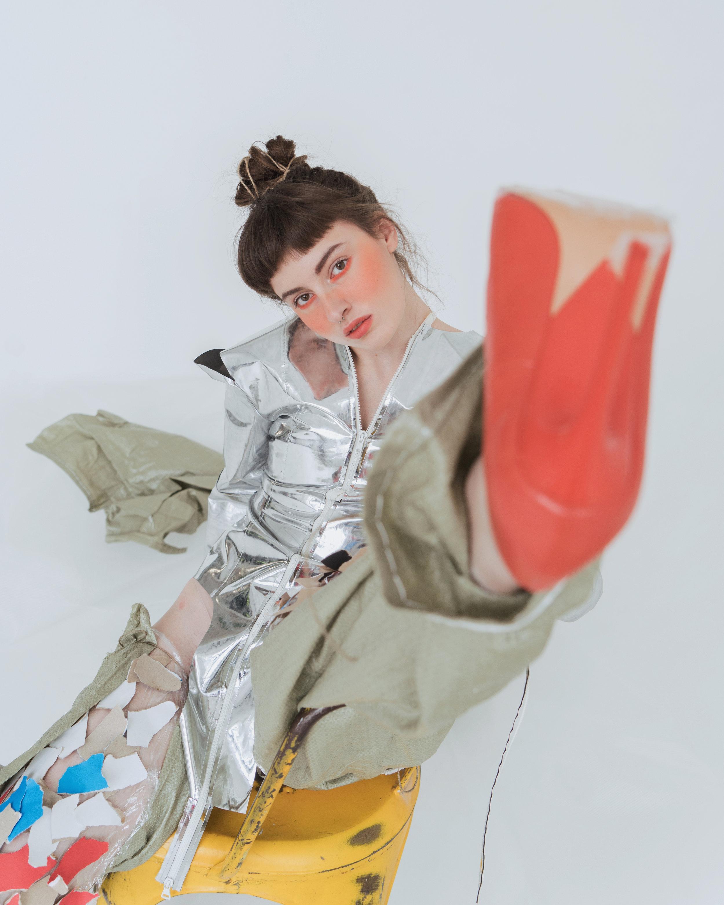 Jacket EVGENIYA BARKOVA @jackson_de_ville Shoes ZARA @zara