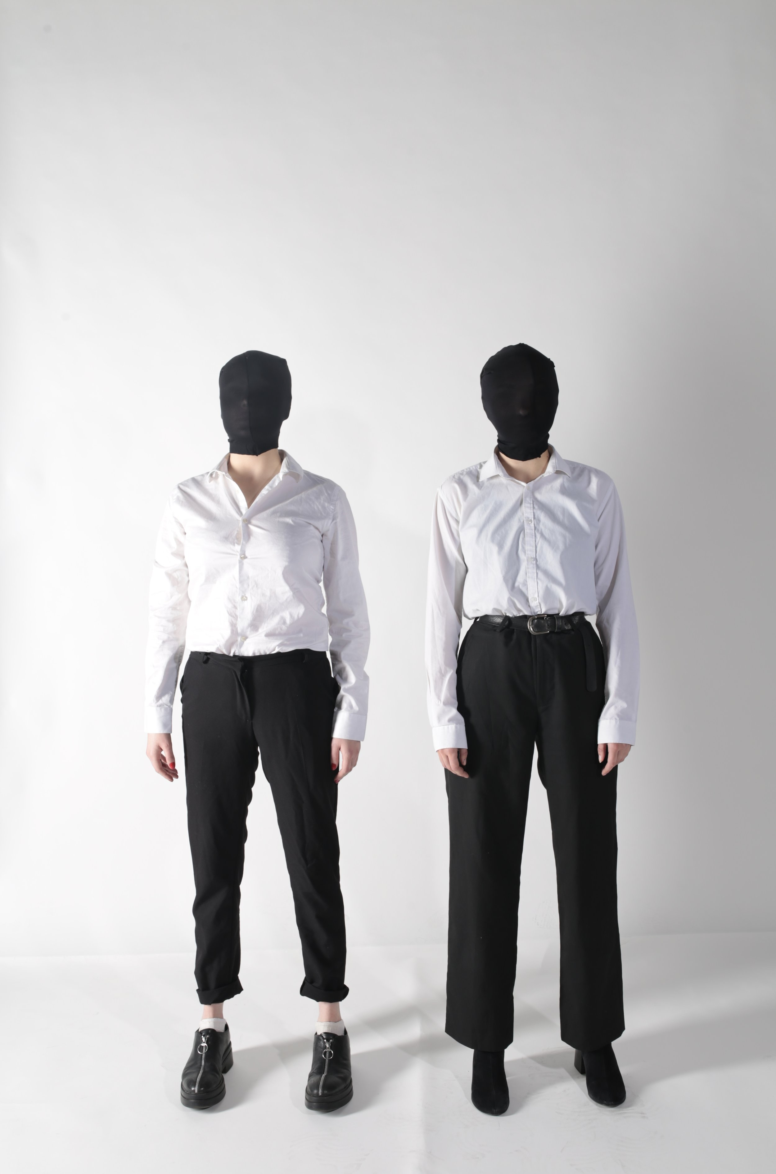 White Shirts - Zara Trousers - New Look Brogues - Vagabond Boots - Topshop
